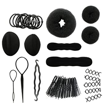 Amazon.com : MapofBeauty Fashion Hair Styling Kit Accessories, DIY ...