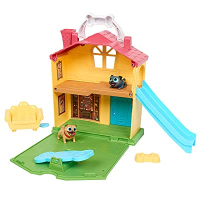 Puppy Dog Pals Stow N' Go Playset: Toys & Games