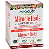 MacroLife Naturals Superfood Miracle Reds, 12 packets - 4 ounces