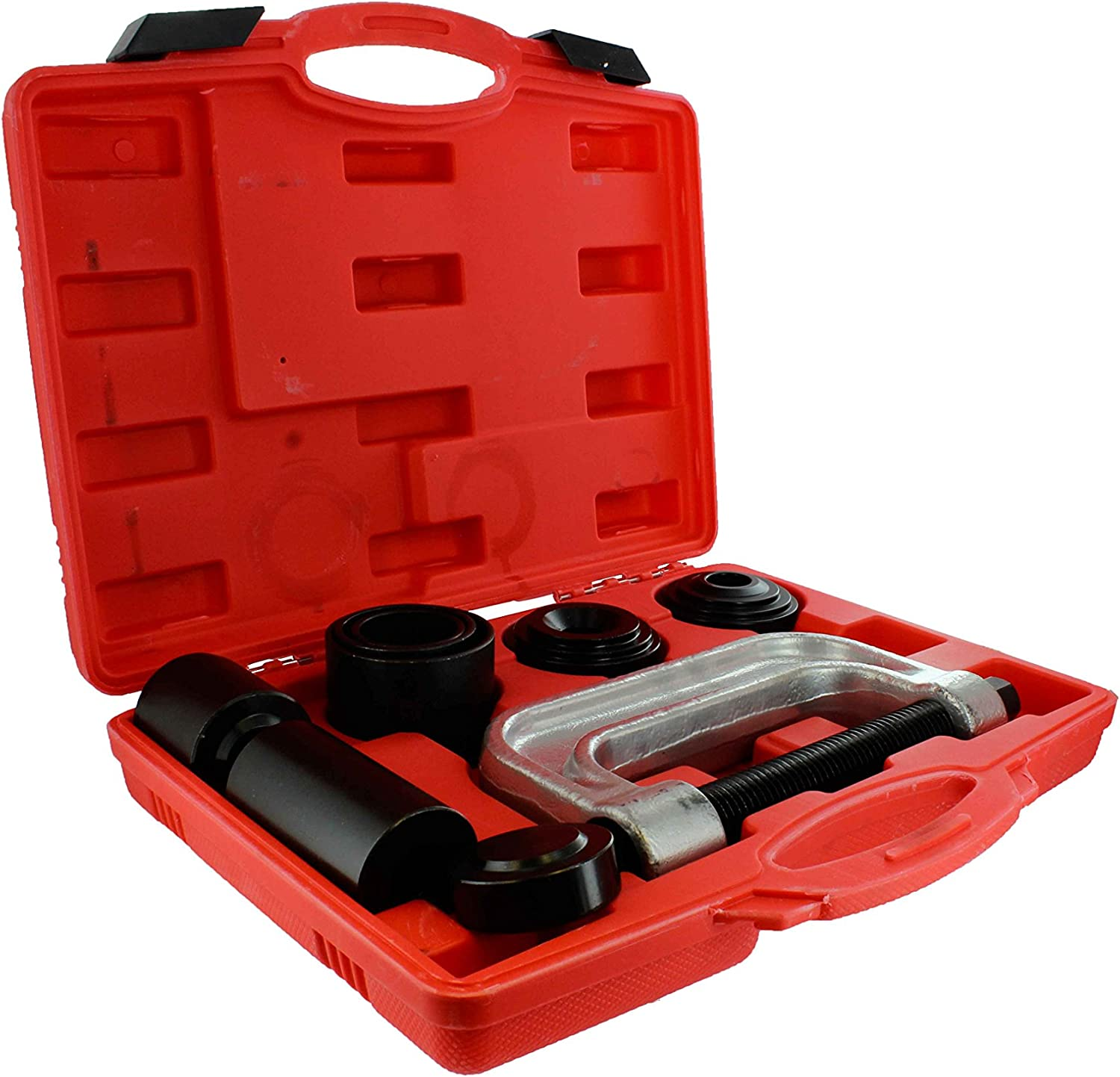 ABN Ball Joint Press Tool Set - 10Pc Ball Joint Remover Tool Ball Joint Press Kit Service Tool Kit with Adapters