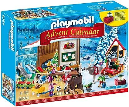 PLAYMOBIL Calendario de Adviento-9264 Taller de Navidad ...