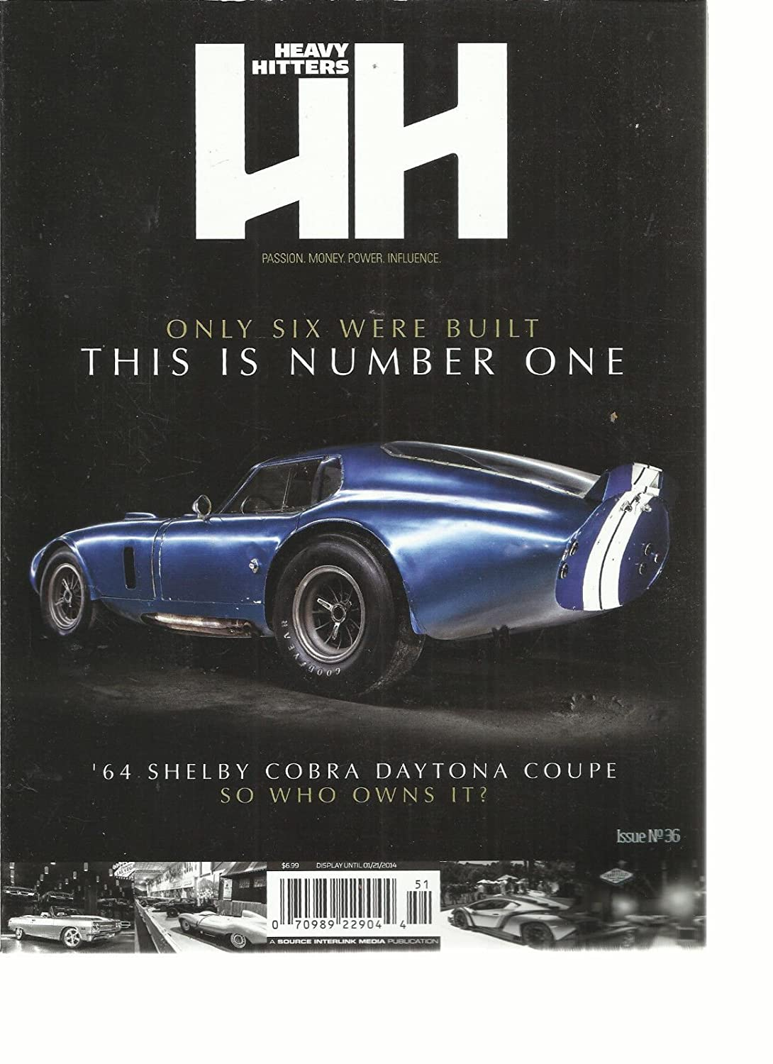 HH HEAVY HITTERS PASSION, MONEY, POWER, INFLUENCE, ISSUE NO. 36 (ONLY 6 BUILT s3457