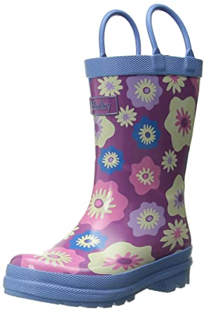 Amazon.com: Hatley Girls' Rainboots -Graphic Flowers: Clothing