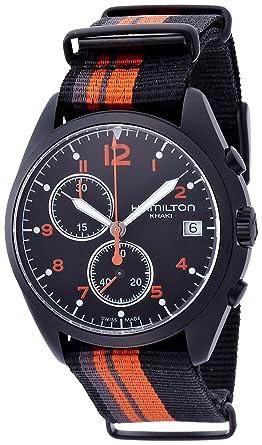 Hamilton Khaki Aviation Pilot Pioneer Chrono Quartz Men s Quartz Watch  H76582933 821dda4a288
