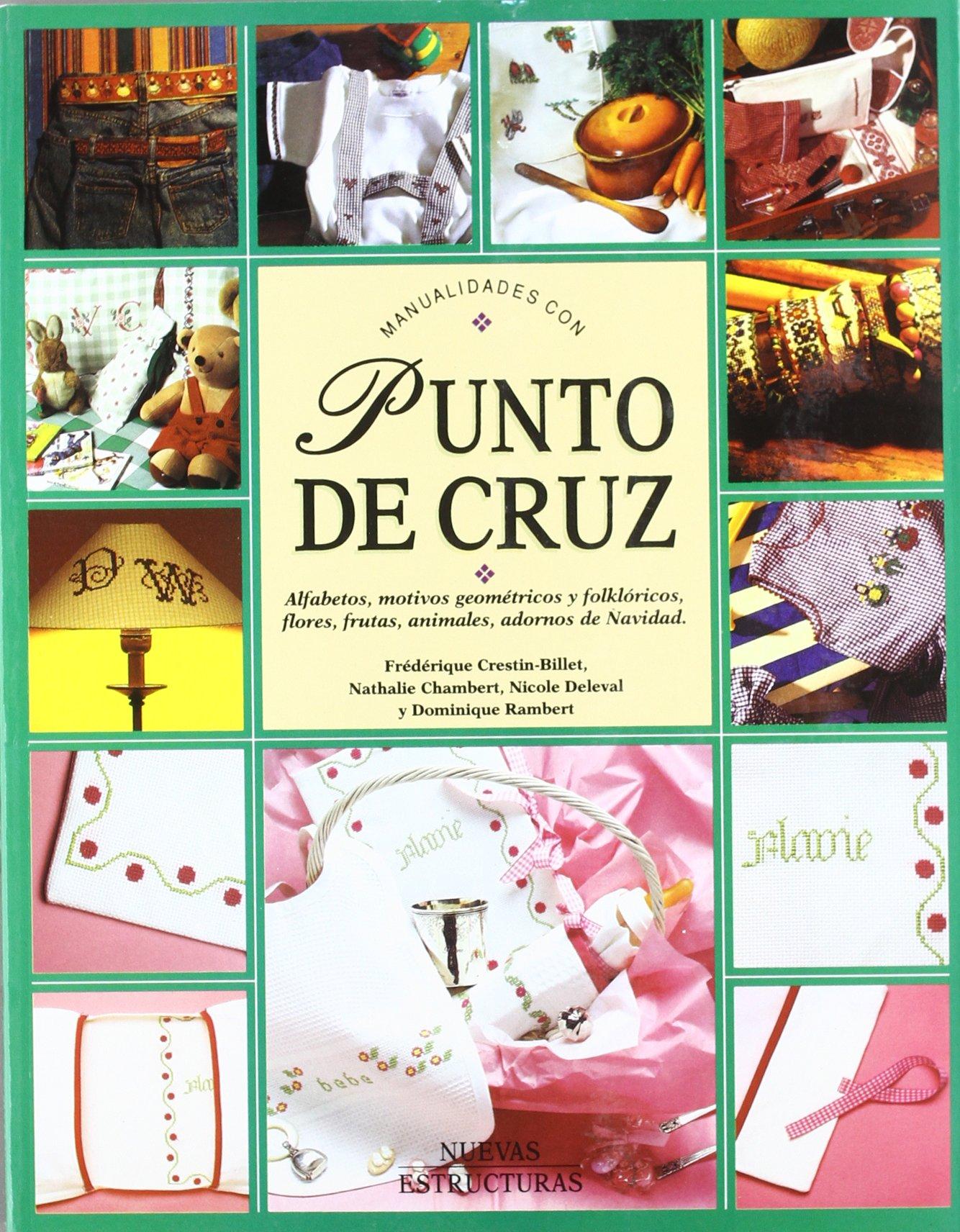 MANUALIDADES CON PUNTO DE CRUZ (Spanish) Paperback