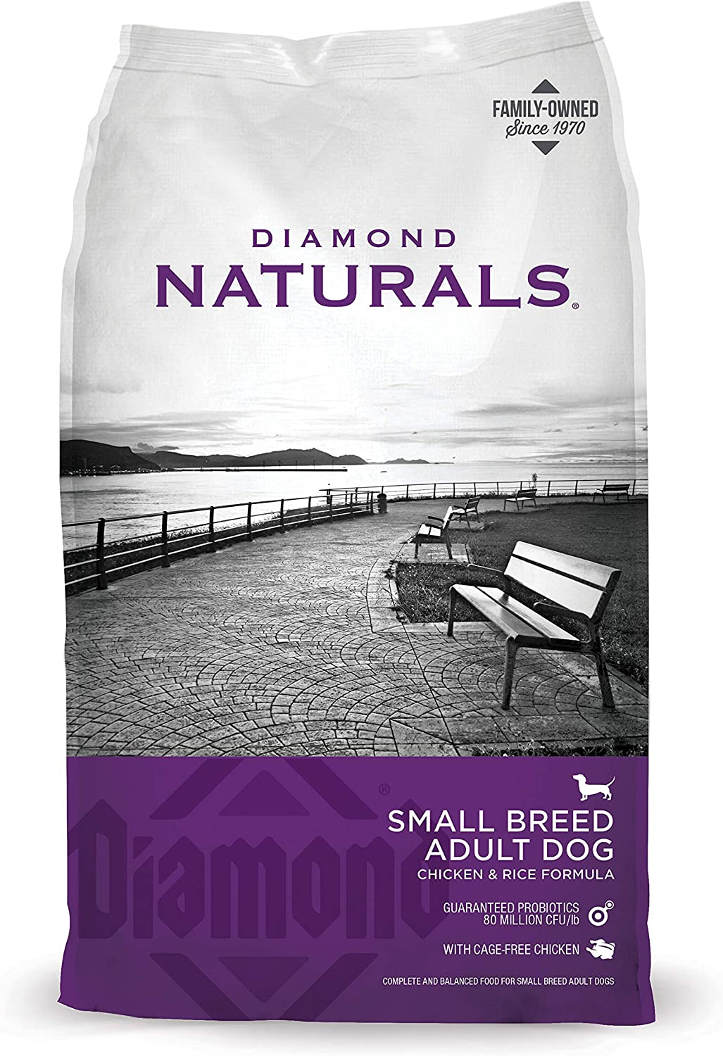 DIAMOND NATURALS Small Breed Dog Real Chicken Recipe