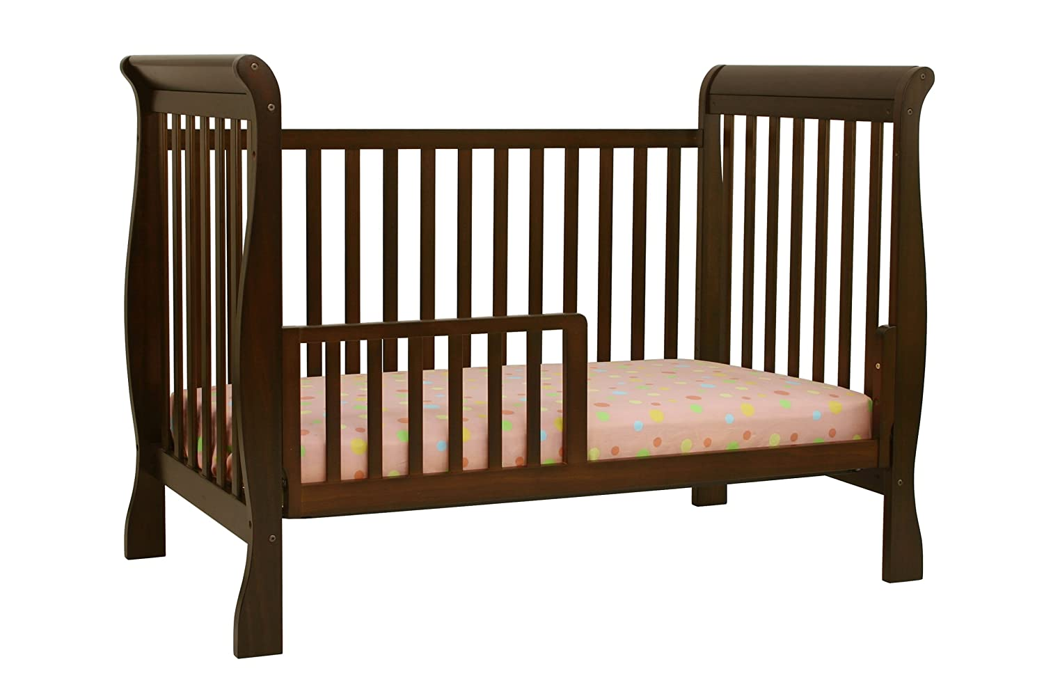 Toddler bed rails for convertible cribs - Amazon Com Davinci Toddler Bed Coversion Kit Espresso Nursery Bed Rails Baby