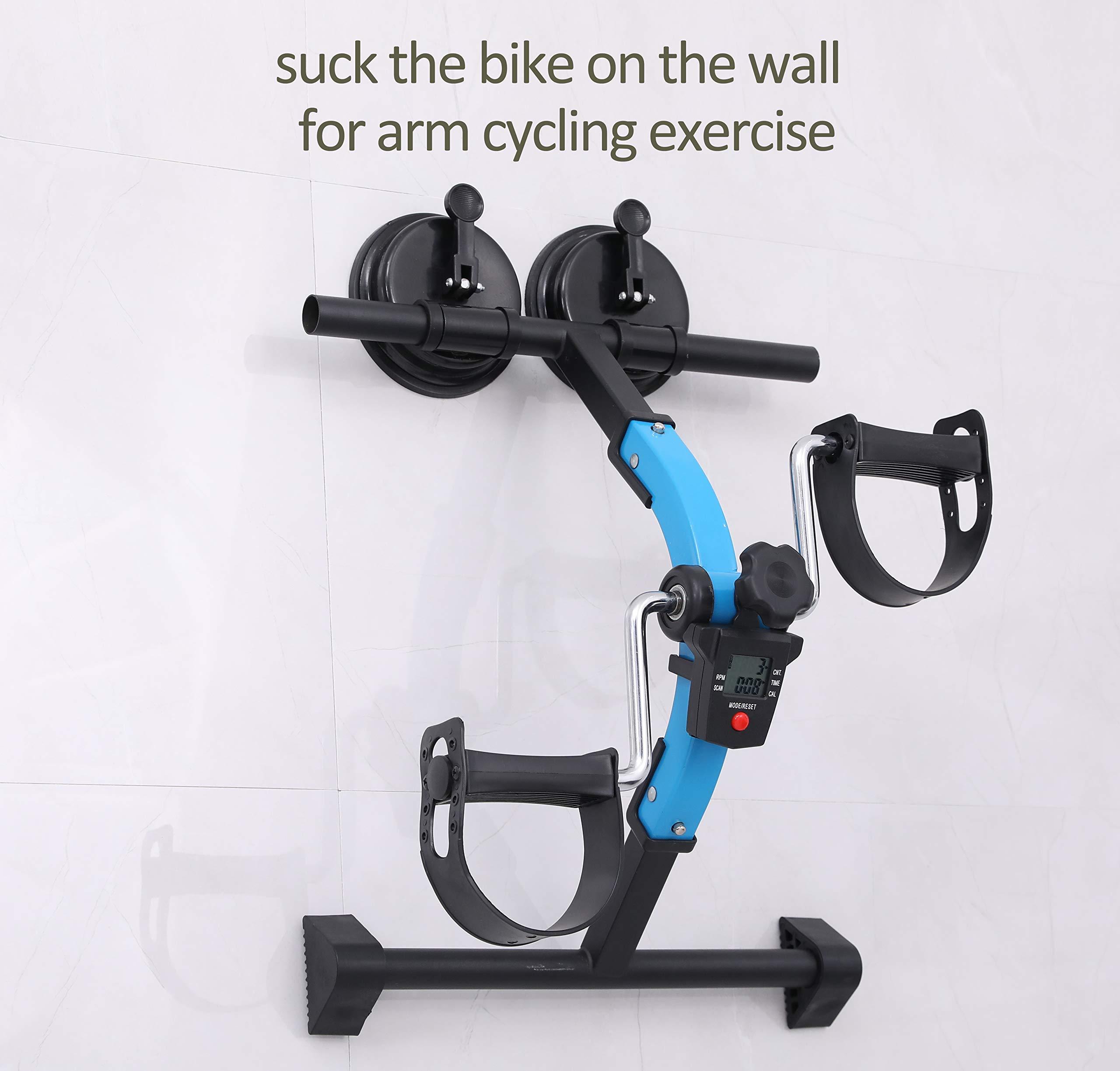 MOMODA Anti-Slip Foot for Mini Exercise Bike Stopper and Holder Anti-Slip Sucker for Pedal Exerciser or Leg Exerciser 2 pcs (26MM) by MOMODA (Image #6)