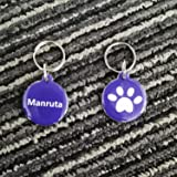 Manruta 2 Pack RFID Collar Tag for Pets Cat Instead of Microchip Tag for Auto Pet Door