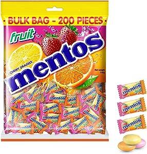 Mentos Fruit Candy Pillowpack, 540 g
