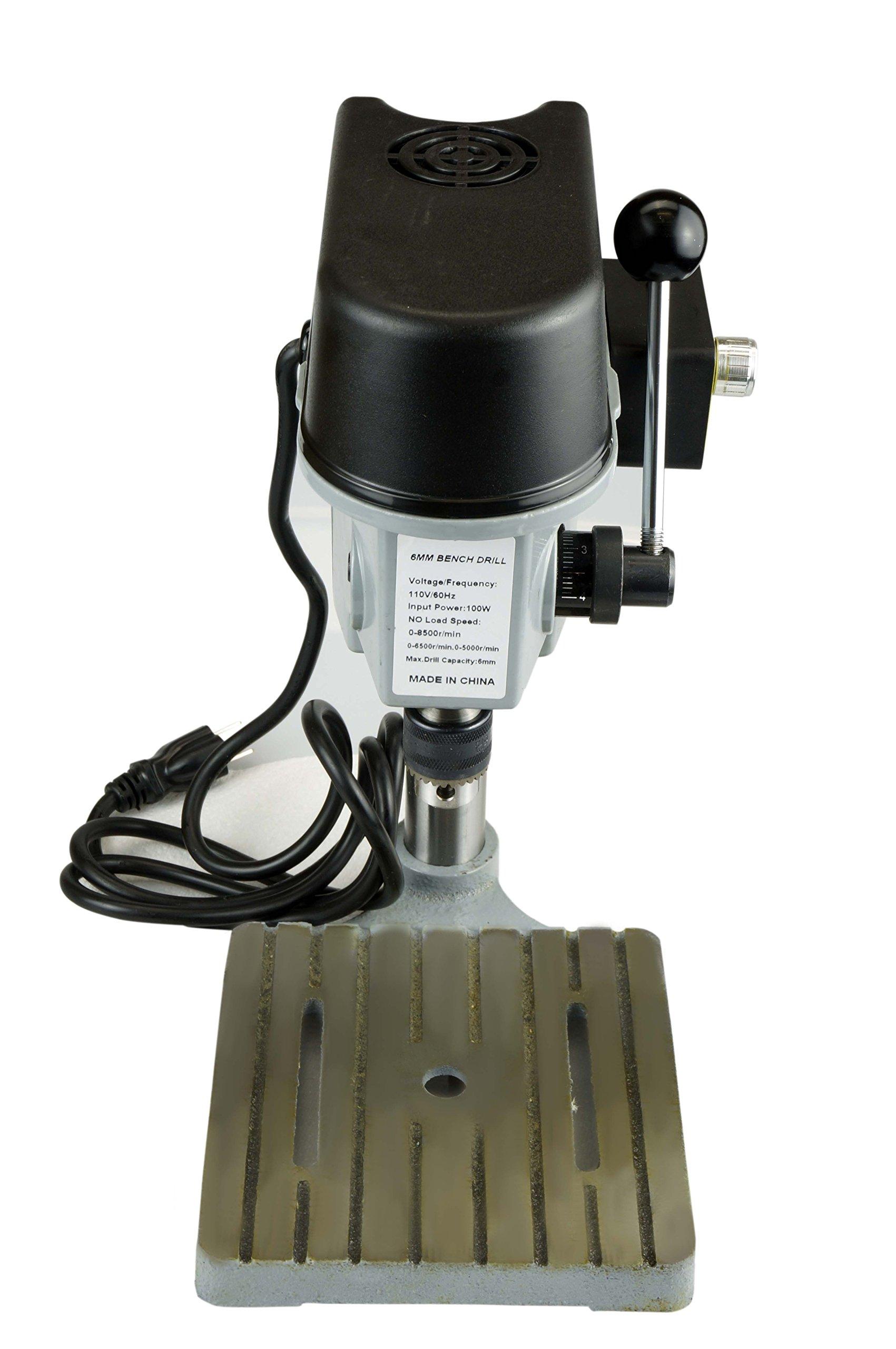SE 3-Speed Mini Drill Press Bench by SE (Image #5)