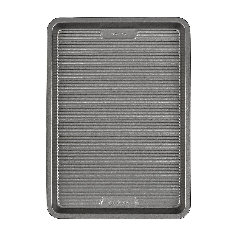 Good Cook AirPerfect Nonstick Quarter-Sheet Cake Pan, 13 x 9, Gray 13 x 9 04170