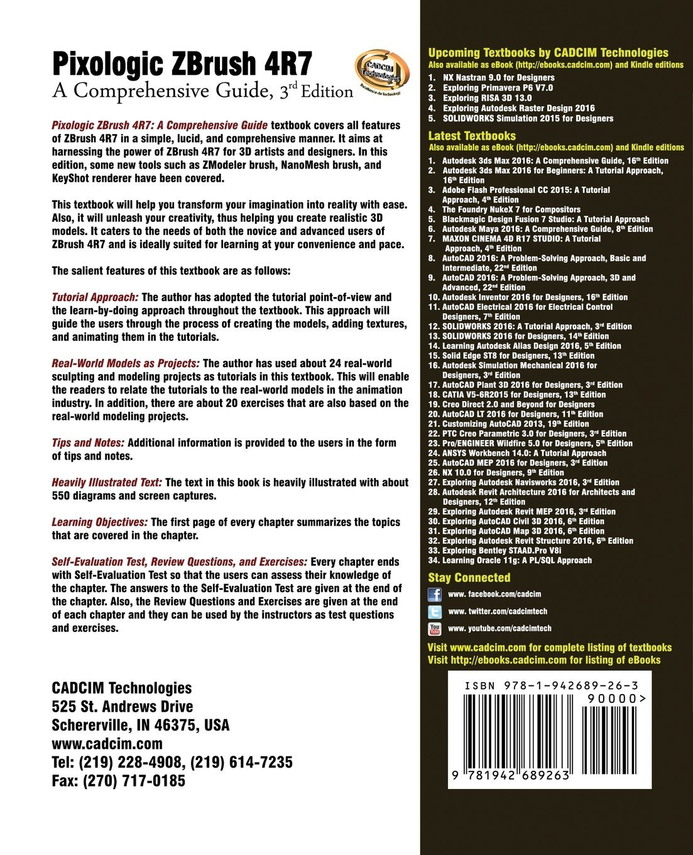 Buy Pixologic Zbrush 4r7: A Comprehensive Guide Book Online