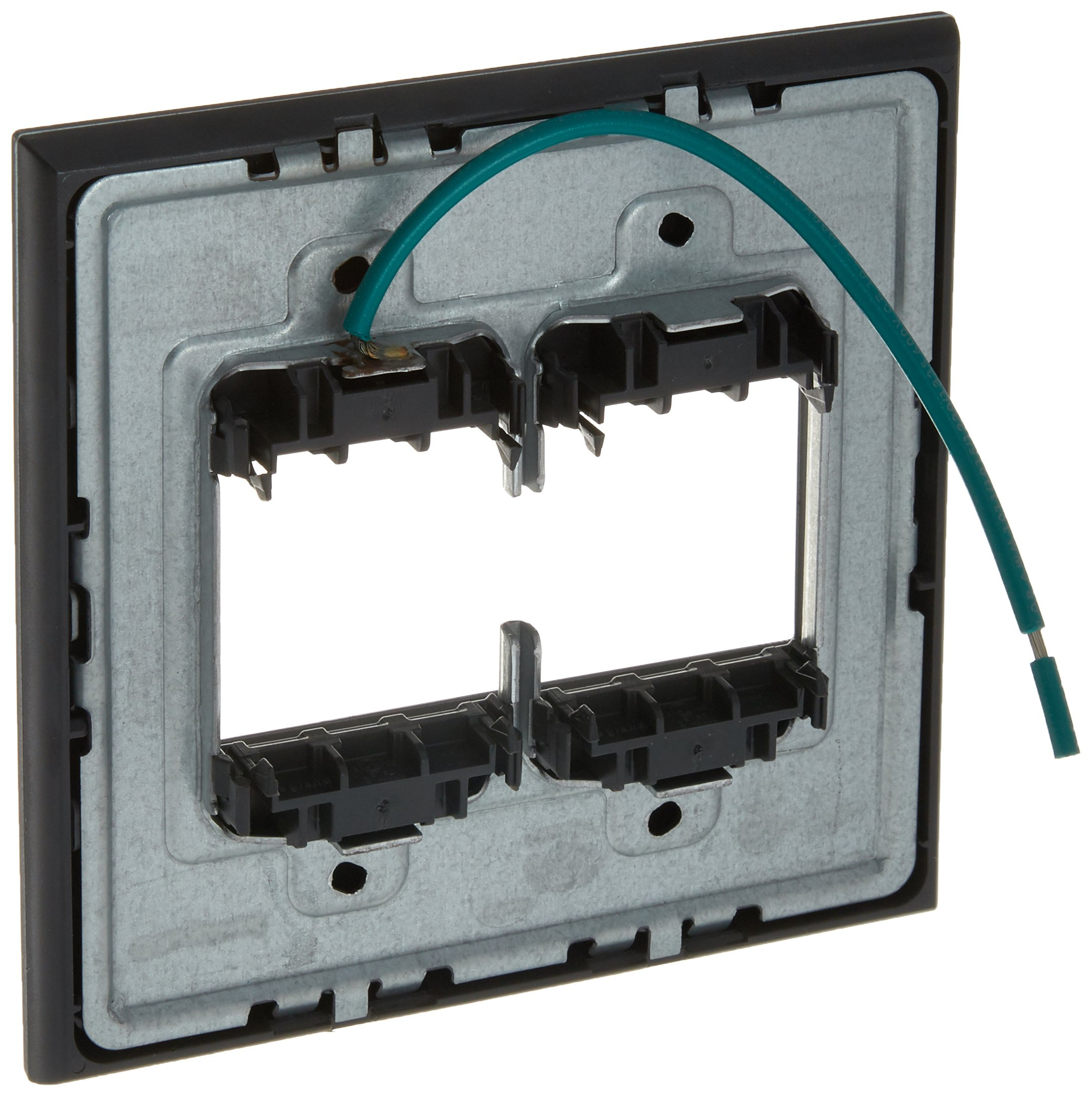 PASS & SEYMOUR AWP2GMG4 Adorne 2 Gang Magnesium Wall Plate by Pass & Seymour (Image #2)
