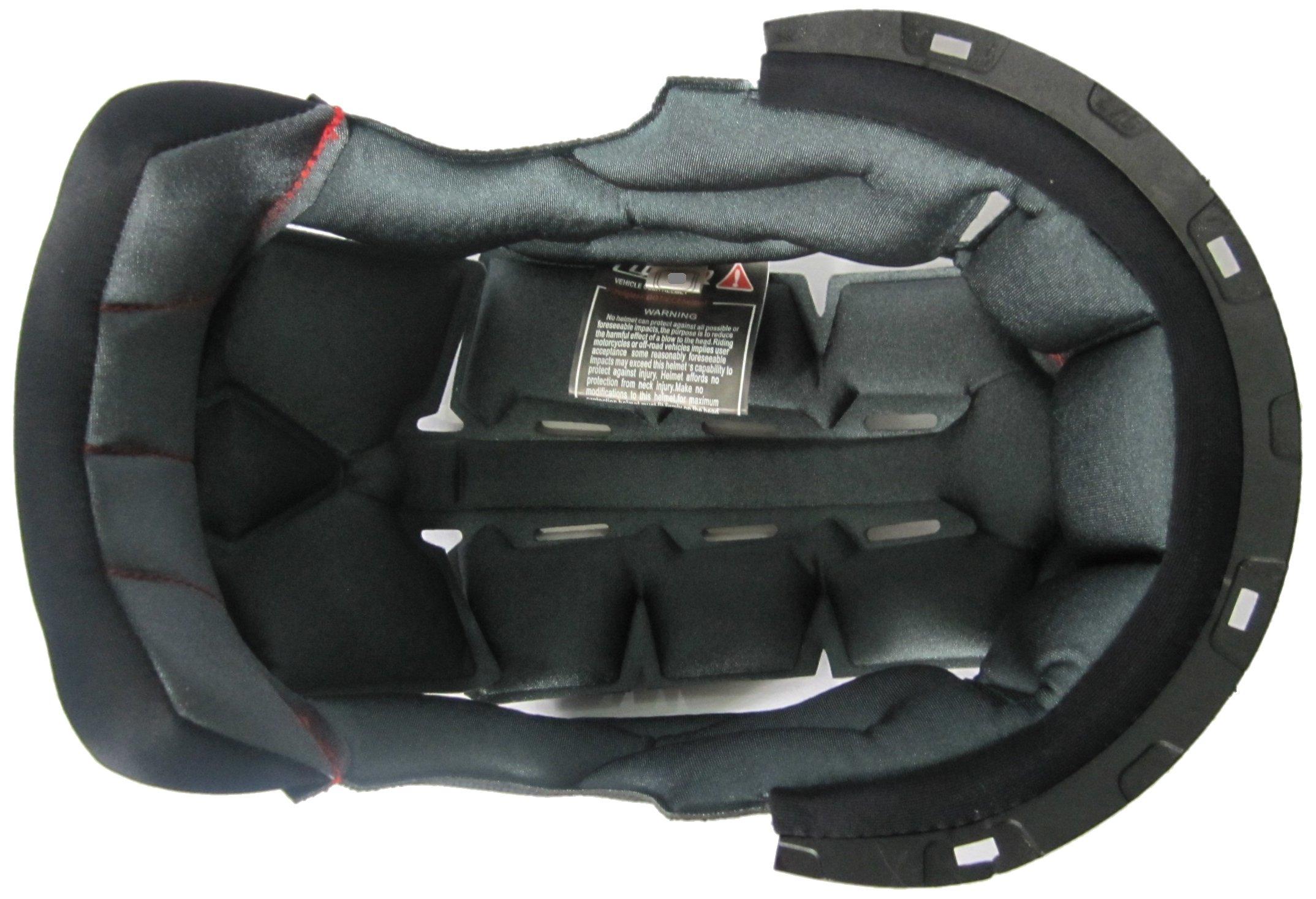 LS2 Helmets Liner for FF385/396 FT2 Helmets (Black, Small)