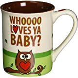 Enesco 4036916 Our Name is Mud by Lorrie Veasey Owl always love you mug , 16-Ounce