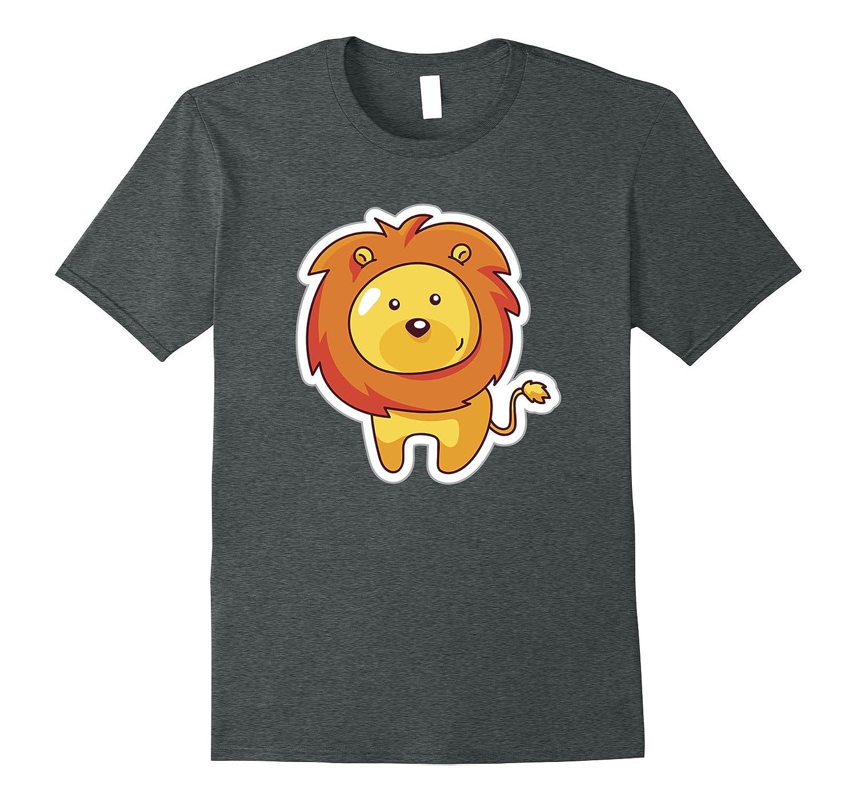 Cute Jungle Lion Safari Animal Love Adult & Toddler T-Shirt-ANZ
