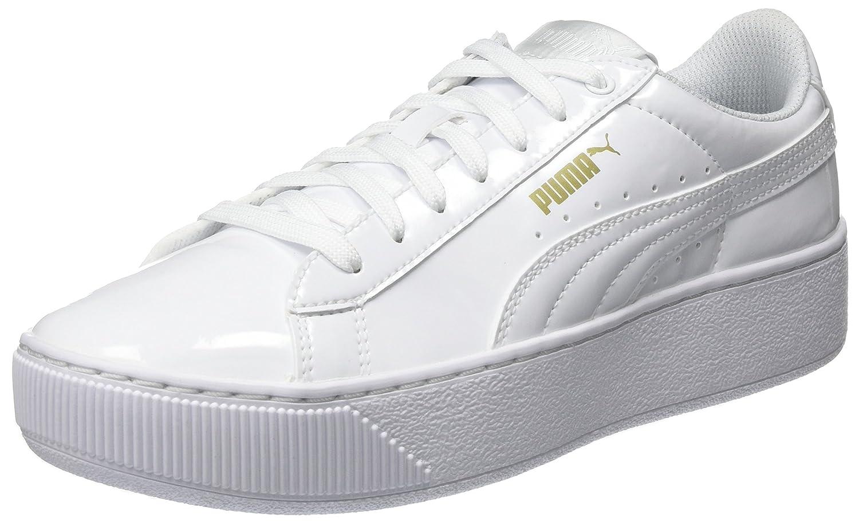 Puma Vikky Platform Patent, Zapatillas Mujer 37 EU|Blanco (White)