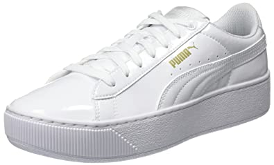 e919b32338a Puma Women s Vikky Platform Patent Trainers  Amazon.co.uk  Shoes   Bags