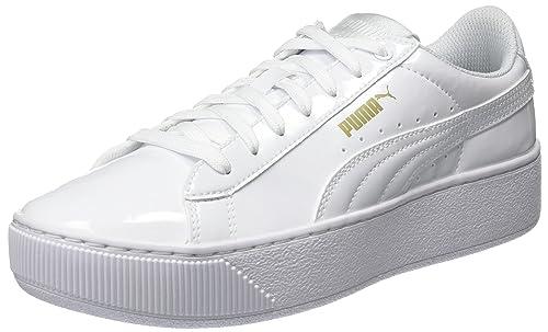 Puma Vikky Platform Patent, Zapatillas para Mujer: Amazon.es: Zapatos y complementos