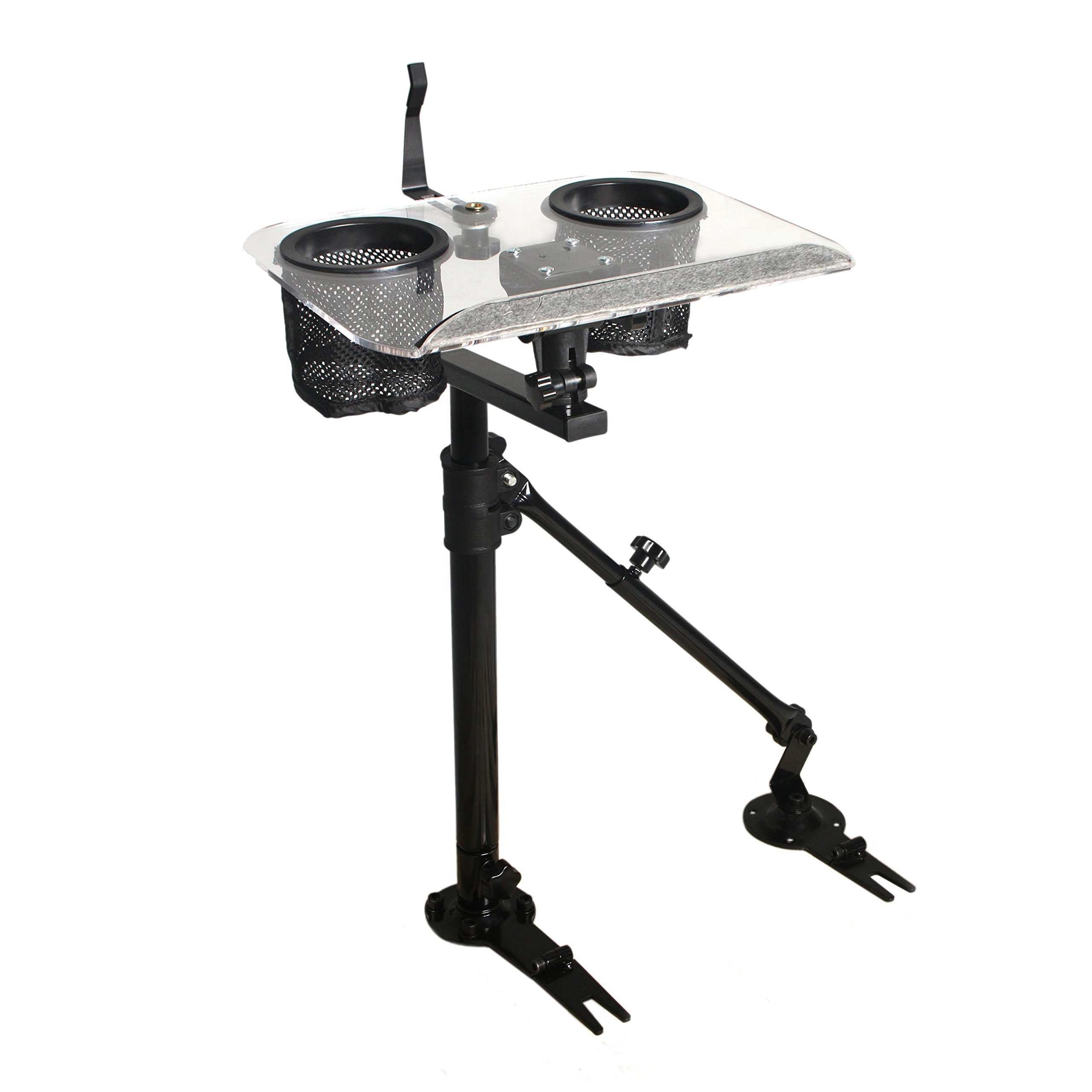 AA-Products K005-A3 Laptop Mount Stand Holder For Car With Non-Drilling Bracket and Supporting Arm Kit