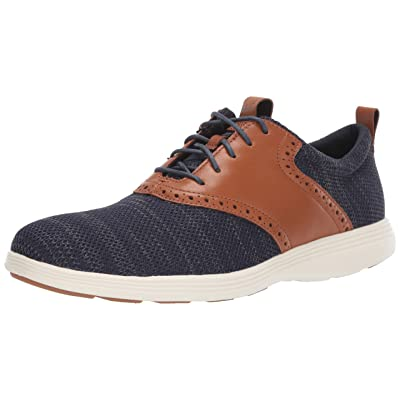 Amazon.com | Cole Haan Men's Grand Tour Knit Oxford Black Flat | Oxfords