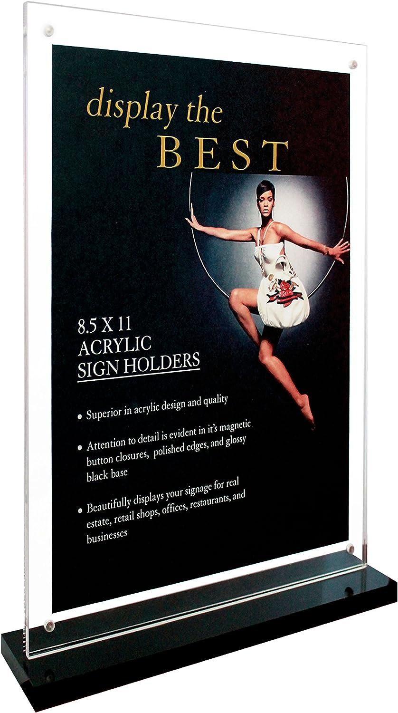 Under New Management CGSignLab 5-Pack Basic Black Premium Acrylic Sign 18x12