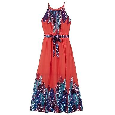 b641a53646f9 Amazon.com: Amy Byer Big Girls' Maxi Dress: Clothing