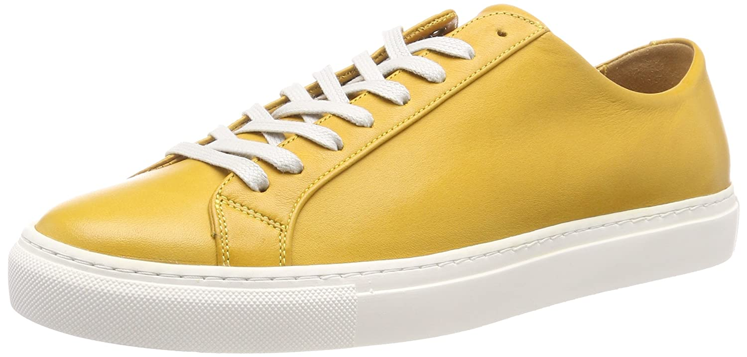 Filippa K M. Morgan Low Sneaker, Zapatillas para Hombre 40 EU|Amarillo (Honey 7635)