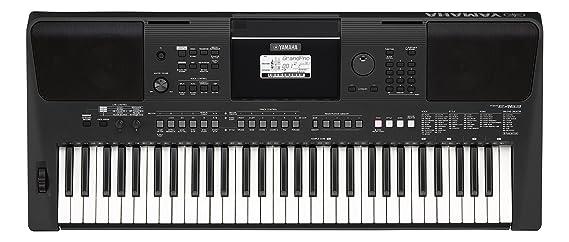 Yamaha PSR-E463 - Teclado portátil, color negro: Amazon.es: Instrumentos musicales