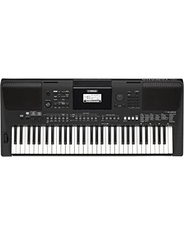 Yamaha PSR-E463 - Teclado portátil, color negro