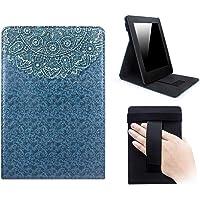 Capa Novo Kindle Paperwhite a Prova D'água WB ® Premium Freedom Auto Hibernação - Mandala Azul