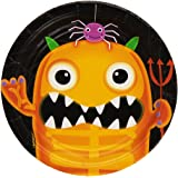 Amscan International 541157 Plate Boo Crew Party Set, 7-Inch
