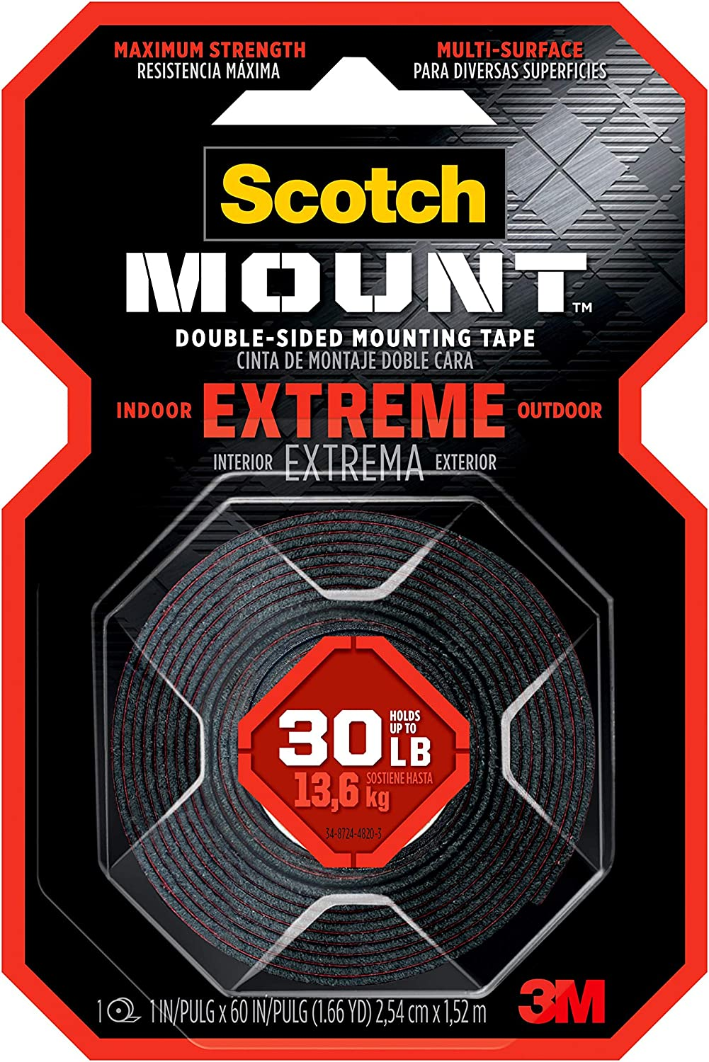 Scotch-Mount Extreme Double-Sided Mounting Tape