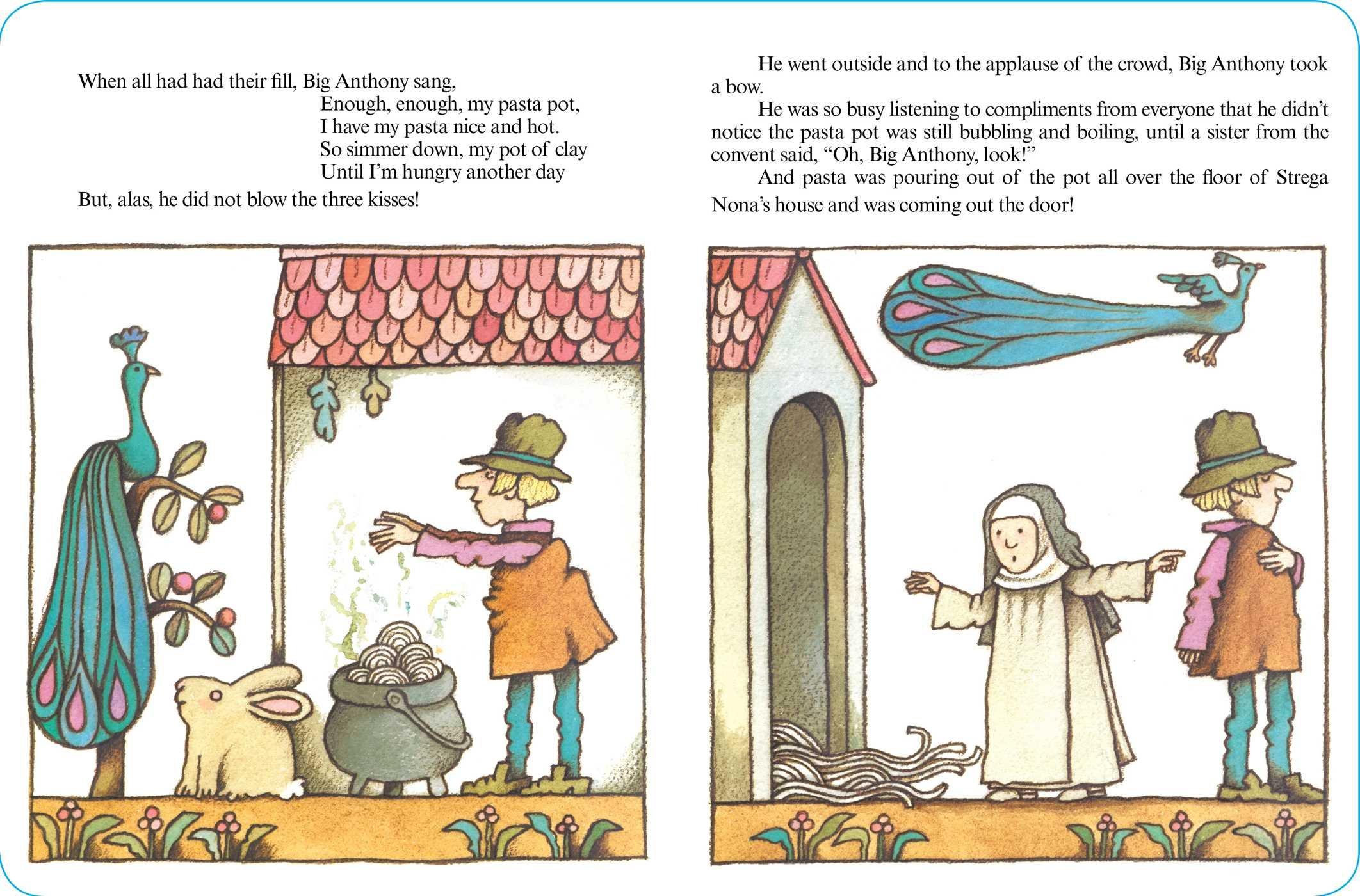 Strega Nona (A Strega Nona Book): Tomie dePaola: 9781481487245 ...