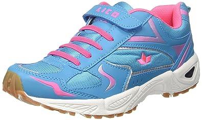 Damen Bob V Multisport Indoor Schuhe, Türkis (Tuerkis/Rosa), 36 EU Lico