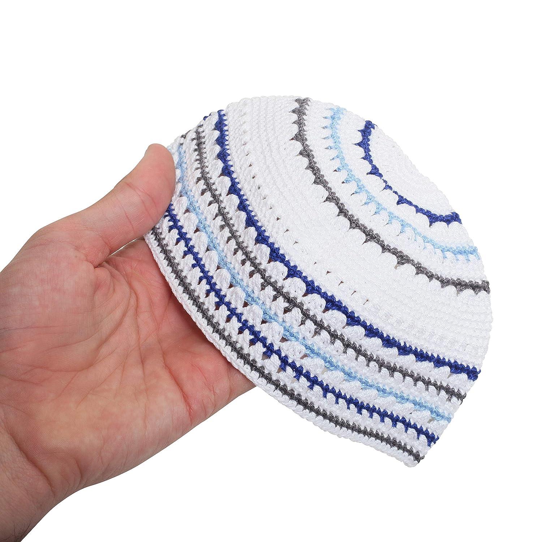 Grey /& Green EREZ OVED Yarmulke Jewish Kippah Frik Kipa Judaica Yamaka Kippa Yamakah Yarmulka Hat Men Or Kids