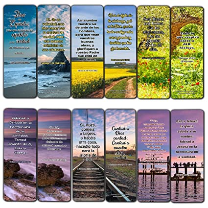 Spanish Worship Bible Verses Bookmarks (30 Pack) - Handy Spanish Bible  Texts to Learn What Traits Define and Constitute Virtuous Women from The  Many