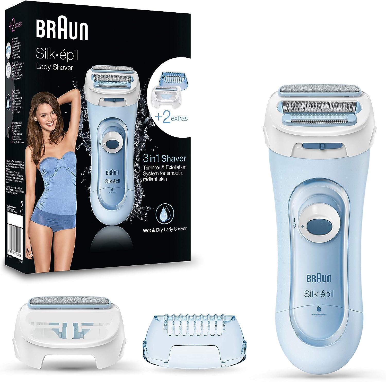 Braun Silk-épil LS5-160 Blu - Rasoio Donna Elettrico