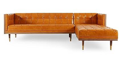 Pleasing Amazon Com Kardiel Woodrow Midcentury Modern Box Sofa Cjindustries Chair Design For Home Cjindustriesco
