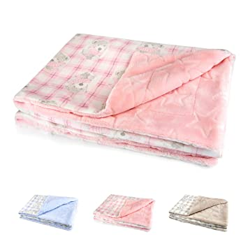 Plush Blanket Fox Baby Shower Gift Warm Soft Fluffy Bedding Car Seat Stroller
