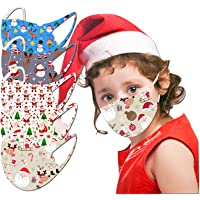 Kids Face Mask, 5 PC Halloween Funny Reusable Washable Cloth Face Masks for Kids Childrens Outdoor School [US Stock]