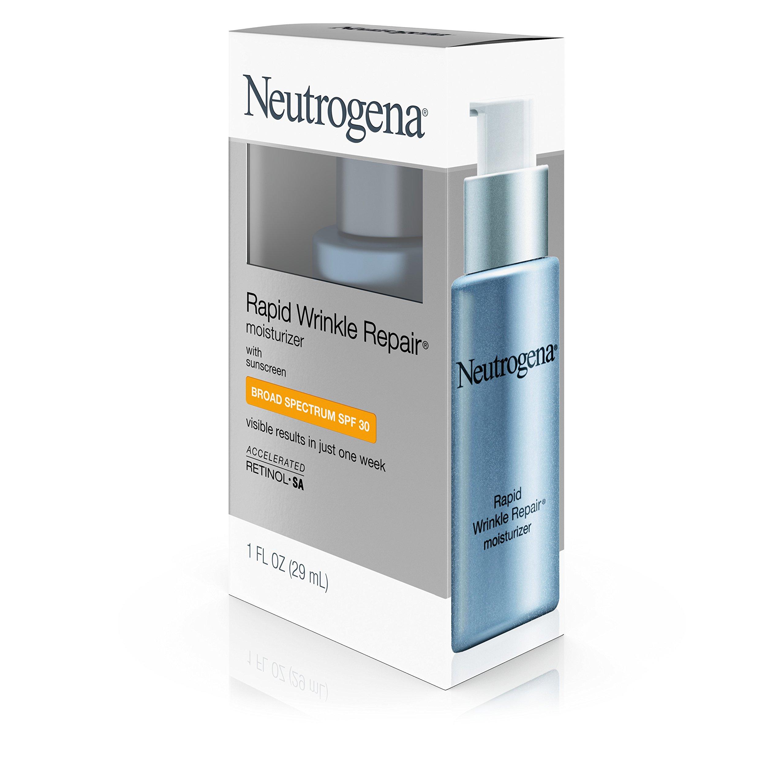 Neutrogena Rapid Wrinkle Repair Anti-Wrinkle Retinol Daily Face Moisturizer, with SPF 30 Sunscreen, 1 fl. Oz by Neutrogena (Image #11)