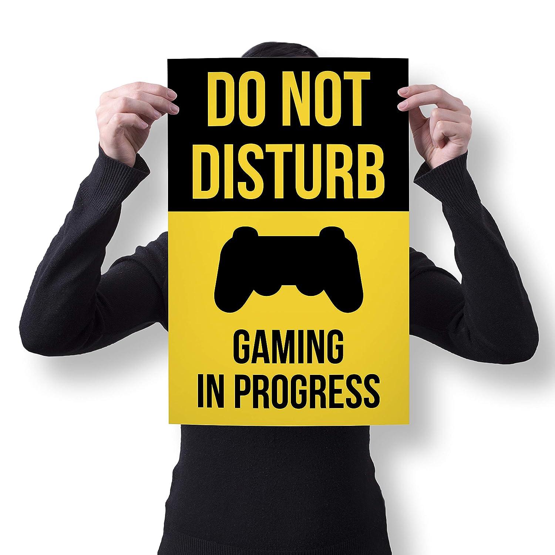 f4d365526068 Amazon.com  Do Not Disturb Gaming Poster