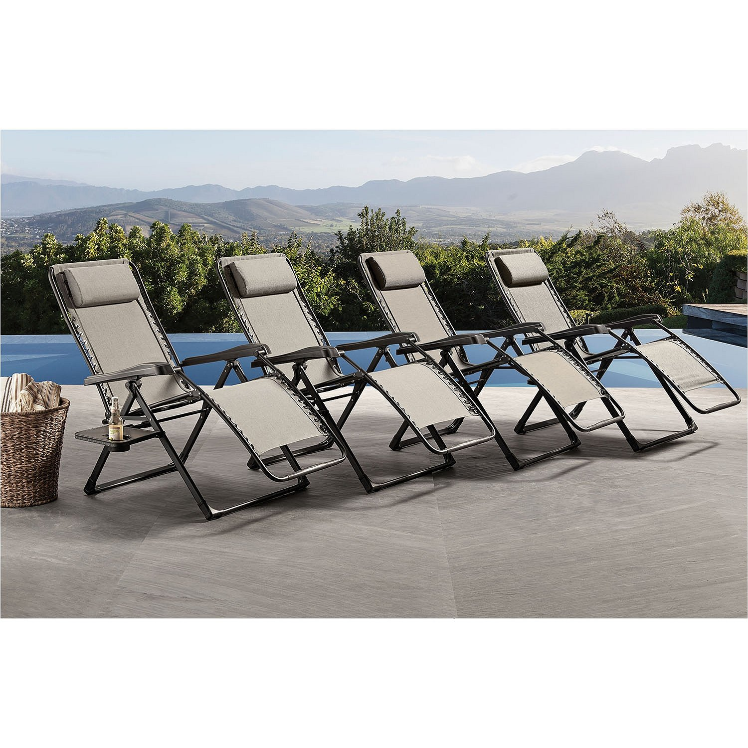 Amazon Member s Mark XL Antigravity Chair Shale Garden