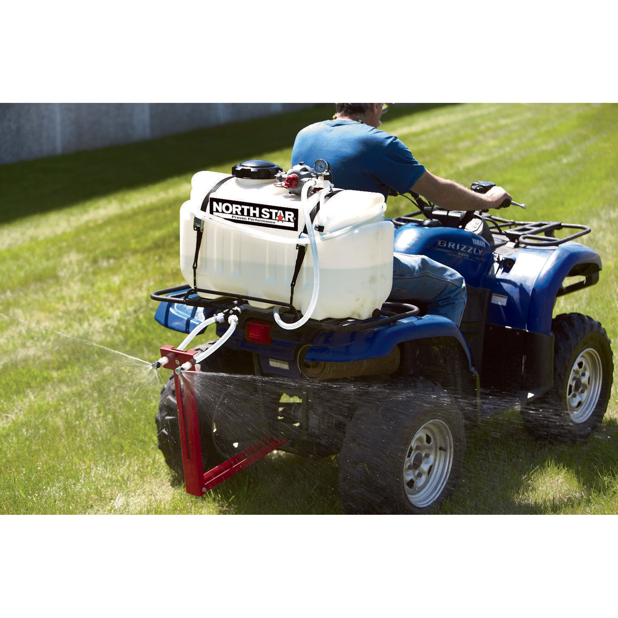 NorthStar ATV Boomless Broadcast and Spot Sprayer - 26 Gallons, 5.5 GPM, 12 Volts