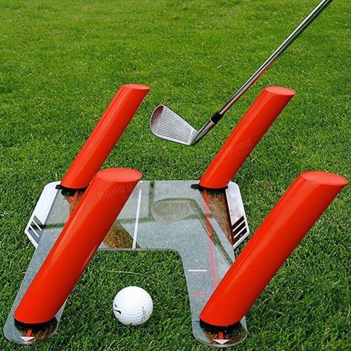 Resource Academy Golf Swing Training Set - Improve Swing Path - Baseboard Plus 5 Rods by Resource Academy (Image #4)
