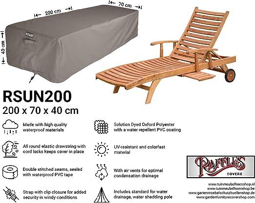 Raffles Covers NW-RSUN200 - Funda para Cama de Billar (200 x 70 x ...