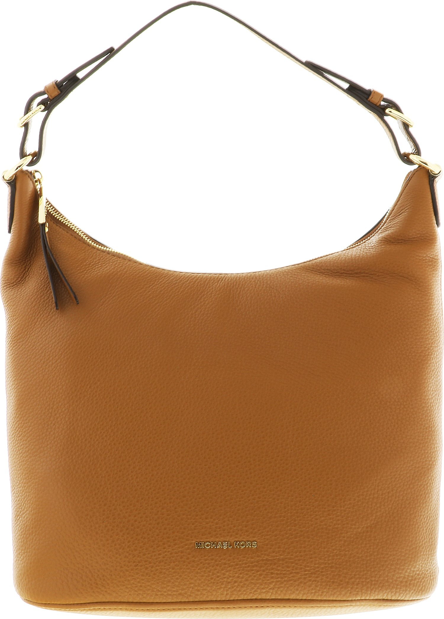 MICHAEL Michael Kors Lupita Leather Large Hobo Bag , Acorn