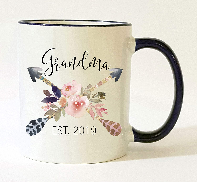Grandma Est 2019 Mug/Pregnancy Announcement 2019 / New Grandma Mug